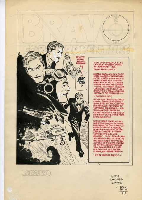 Bravo for Adventure by Alex Toth