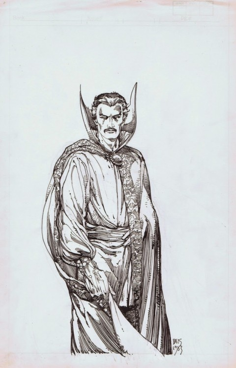 Doctor Strange by Barry Windsor-Smith.  Source.