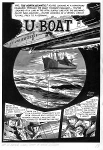 Gene Colan U-boat 1966 Page 1