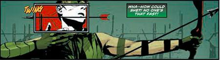 A classic moment from Green Arrow's history re-imagined for the New 52. Jeff Lemire and Andrea Sorrentino do it justice but also flip it in a new way at the same time.