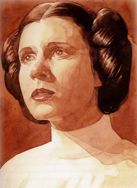 Princess Leia by Mark Chiarello.  Source.