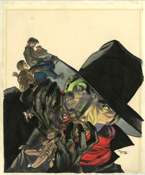 Private Files Of The Shadow cover by Michael Kaluta