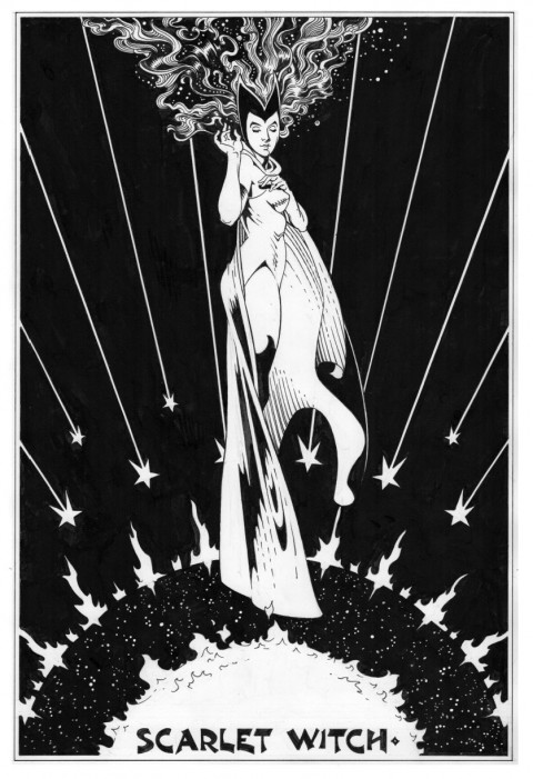 The Scarlet Witch by P. Craig Russell.  Source.