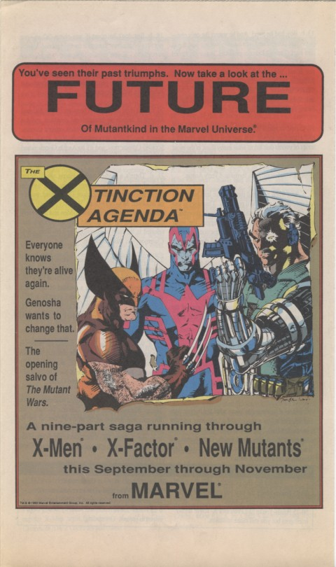 The X-Men Mutant Trivia Book 1990 Page 8