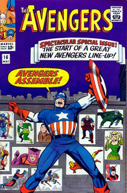 Drawing Real Life Lessons from Early Avengers Comics