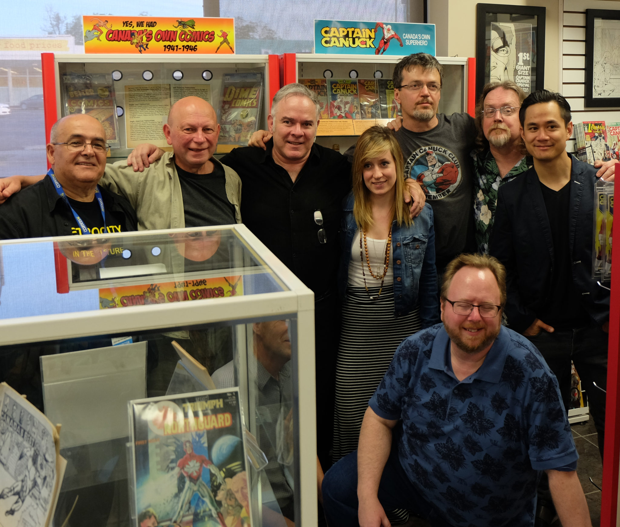 Canadian Comics Corner Launch Party