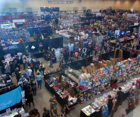 Early Saturday at this year's Niagara Con
