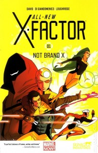 All New X-Factor Vol 1 cover
