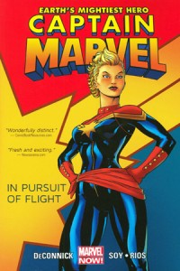 Captain Marvel Vol 1 In Pursuit Of Flight cover