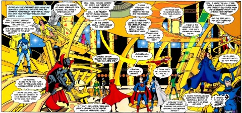 Crisis On Infinite Earths interior 2