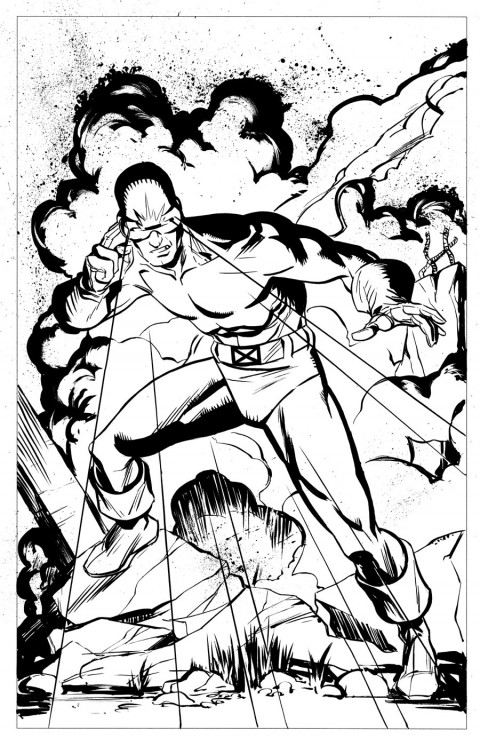 Cyclops by Dave Stokes.  Source.