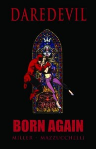 Daredevil Born Again cover