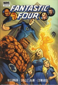 Fantastic Four By Jonathan Hickman Vol 1 cover