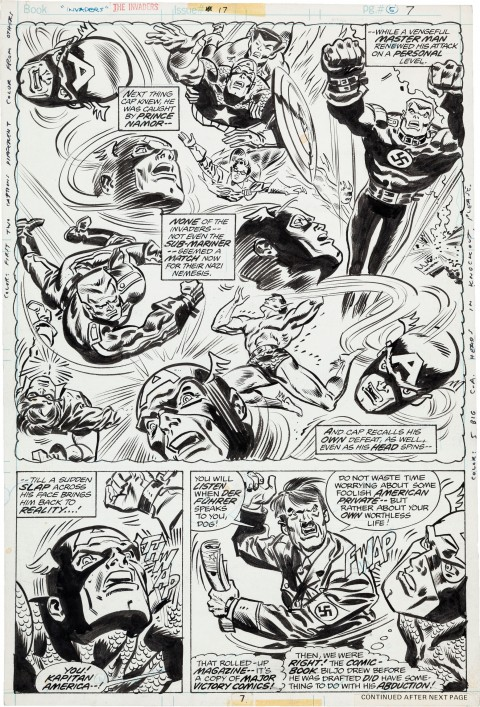 Invaders issue 17 page 5 by Frank Robbins and Frank Springer