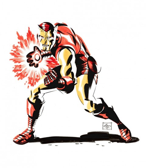 Iron Man by Michael Cho.  Source.