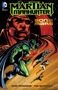 Martian Manhunter Son Of Mars cover