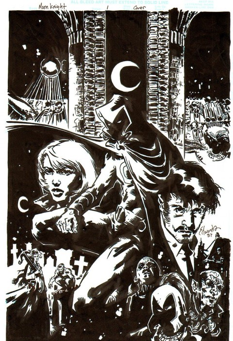 Moon Knight by Tommy Lee Edwards.  Source.