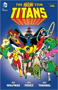 New Teen Titans Vol 1 cover