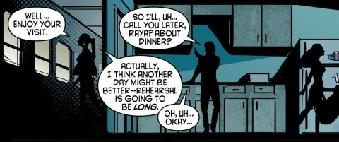 Dick Grayson, ever the ladies man.