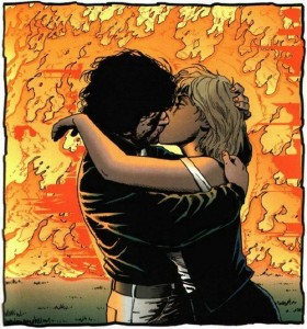 See what I mean? Look how romantic Jesse can be…kissing girls in front of infernos and stuff.