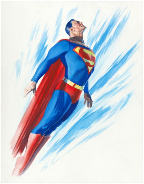Superman by Alex Ross.  Source.