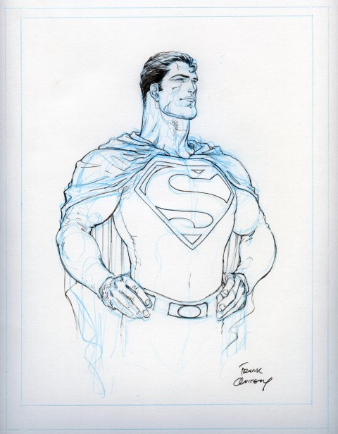 Superman by Frank Quitely.  Source.