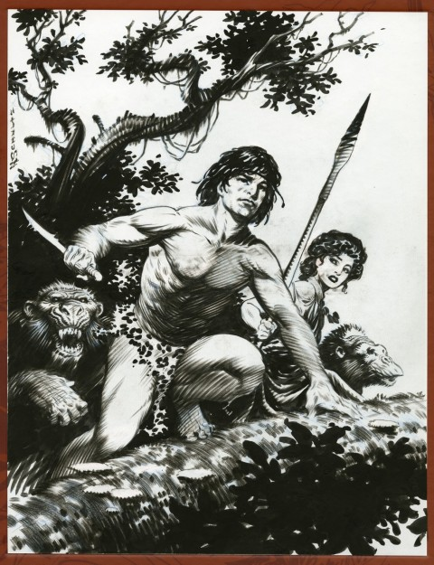 Tarzan by Mark Schultz.  Source.