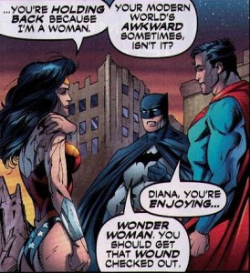 The dynamic shared between the Trinity is the highlight of the entire story.