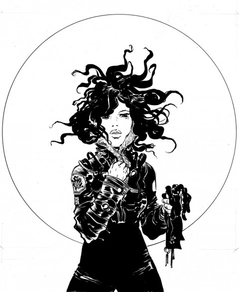 Woman by Paul Pope.  Source.