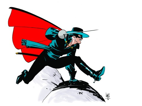 Zorro by Paul Smith.  Source.