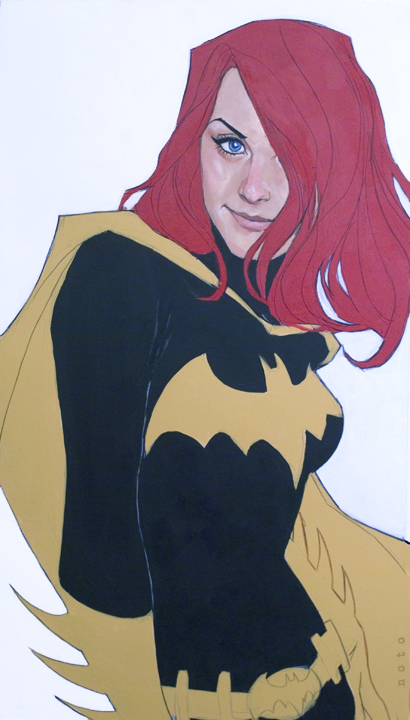 Barbara Gordon by Phil Noto.  Source.