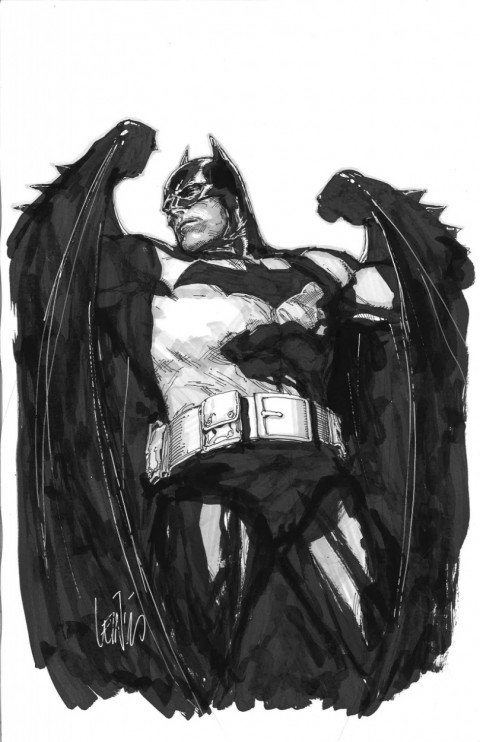 Batman by Leinil Yu.  Source.