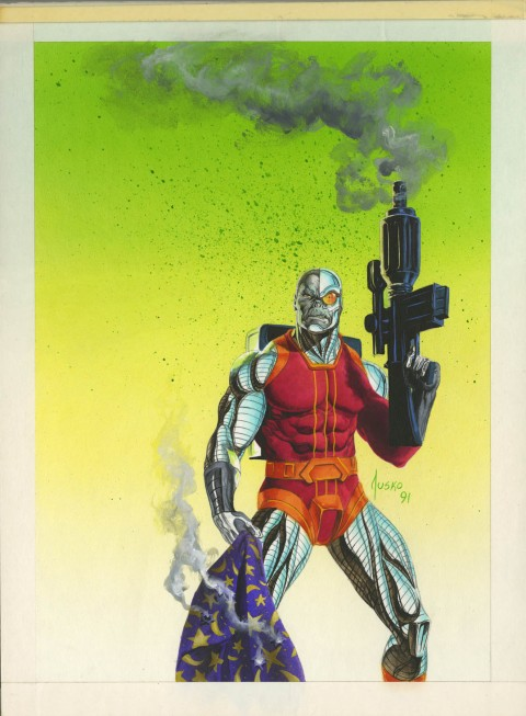 Deathlok by Joe Jusko.  Source.