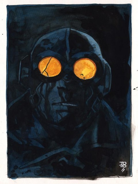 Lobster Johnson 2014 World Art Drop Day by Tonci Zonic clearer