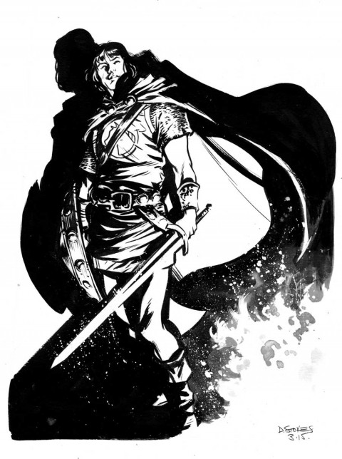 Prince Valiant by Dave Stokes.  Source.