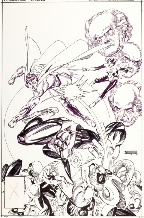 DC Comics Presents issue 60 cover by Gil Kane. Source.