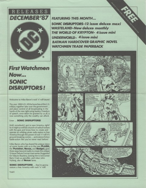 DC Releases December 87 Page 1