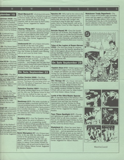 DC Releases December 87 Page 3