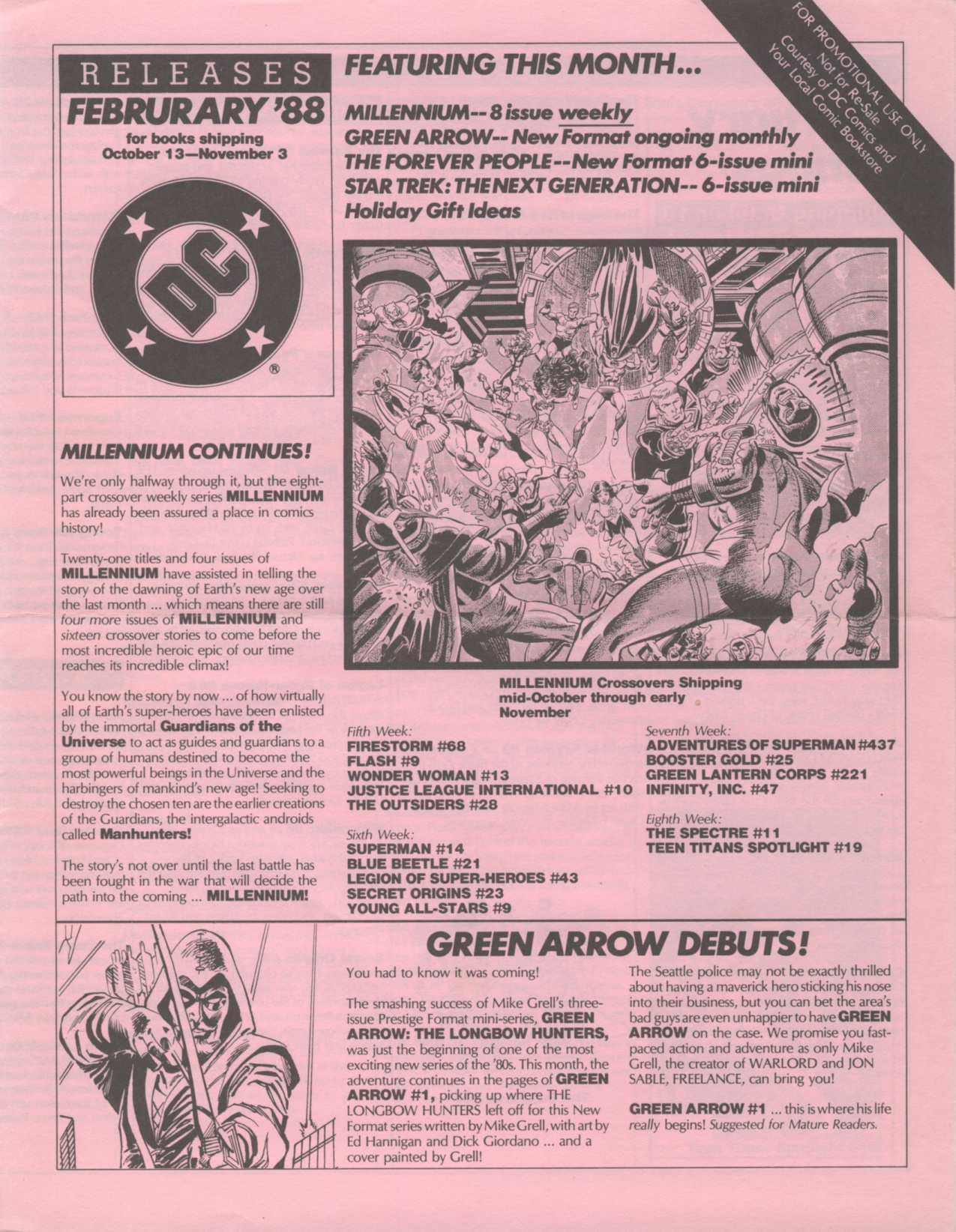 Time Capsule: DC Releases February '88