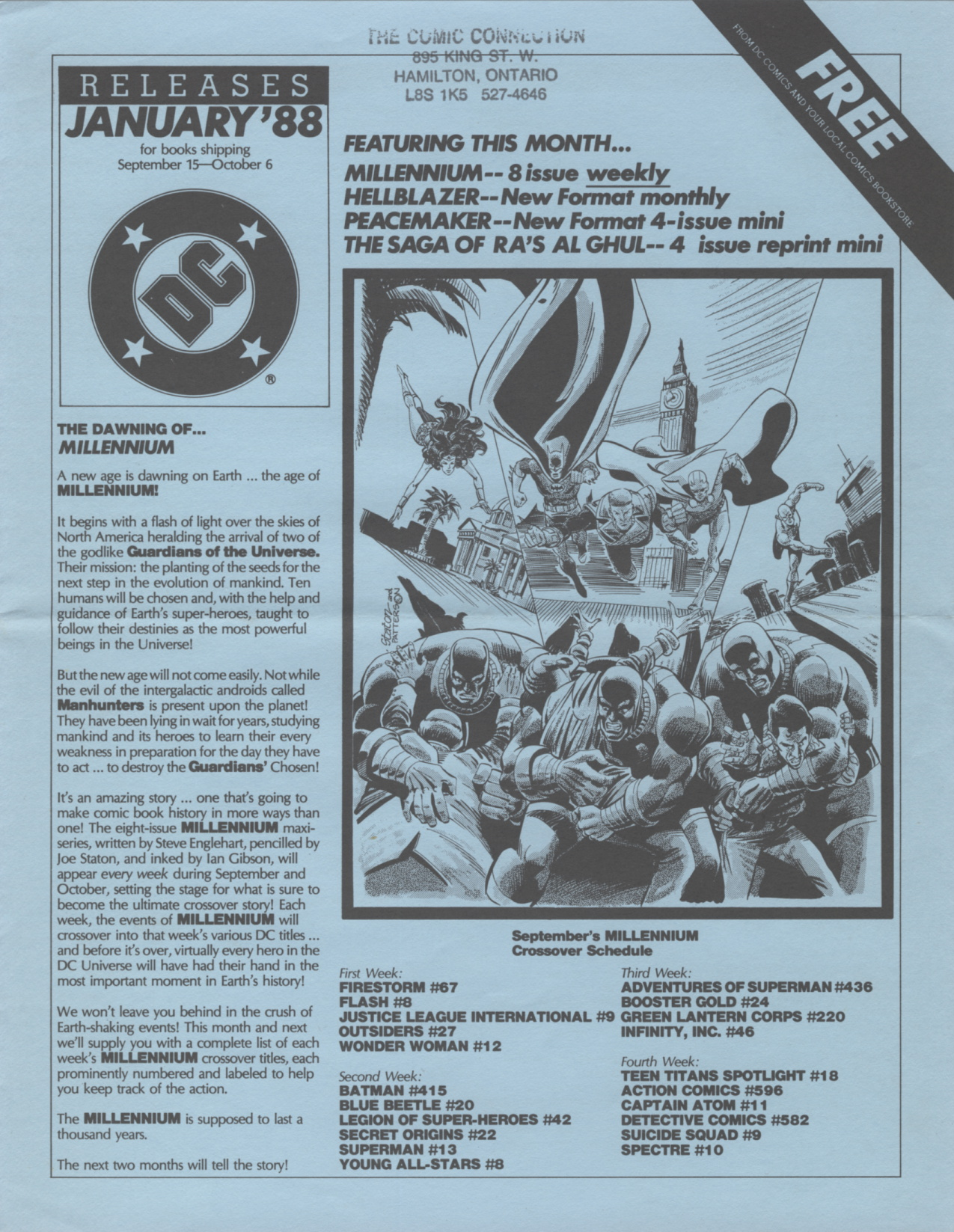 Time Capsule: DC Releases January '88