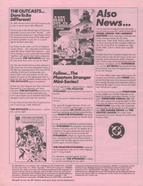 DC Releases October 87 Page 4