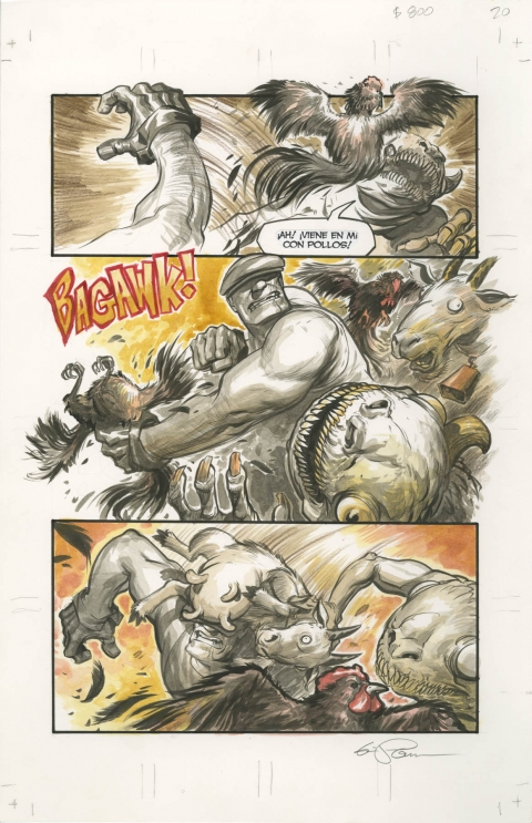 Goon issue 44 page 20 by Eric Powell.  Source.