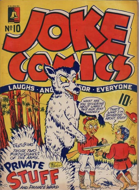 Cover for Joke Comics No. 10