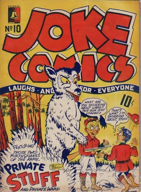 Cover for Joke Comics No. 10