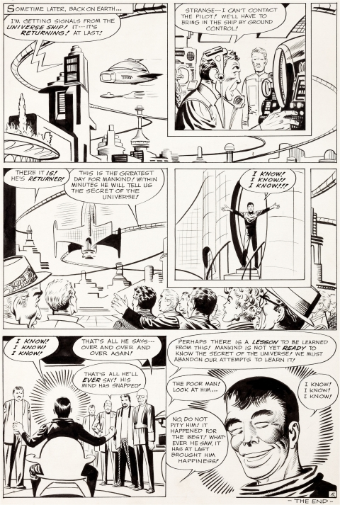 Tales Of Suspense issue 41 page 5 by Steve Ditko.  Source.