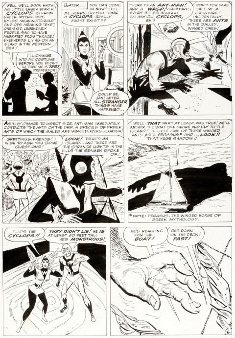Tales To Astonish issue 46 page 6 by Don Heck.  Source.