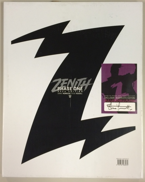 Zenith Phase One Apex Edition box and bookplate