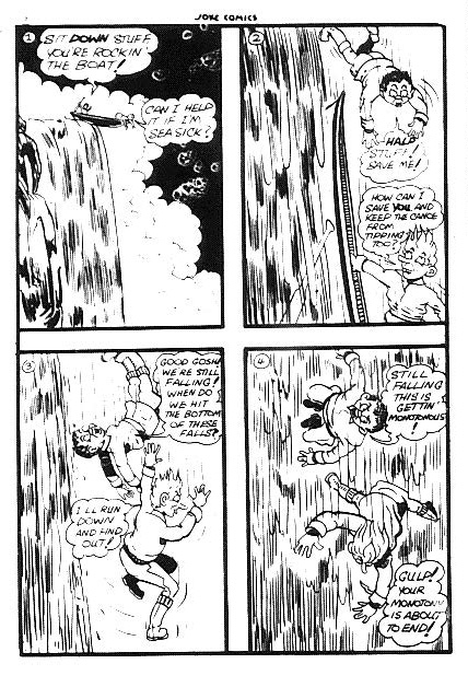 First page of the Pvt. Stuff story from Joke Comics No. 12