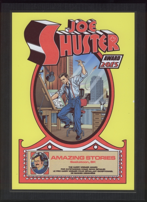 Amazing Stories Shuster Award
