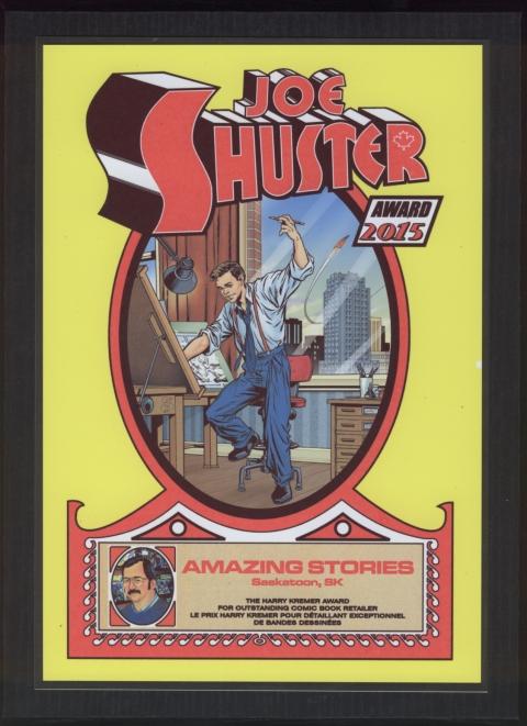 Amazing Stories Shuster Award